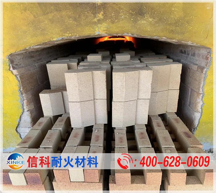 异型粘土砖烧制过程